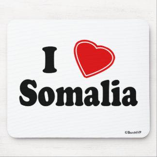I Love Somalia Mouse Pad