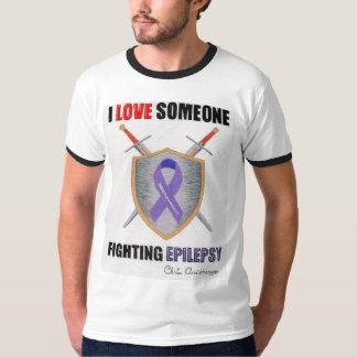 I LOVE Someone Fighting Epilepsy T-Shirt