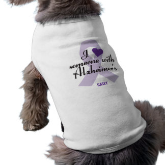 I Love Someone with Alzheimers Shirt