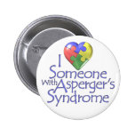 I Love Someone With Asperger's Button
