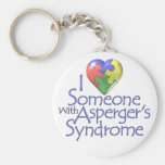 I Love Someone With Asperger's Key Chains