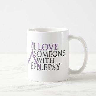 i love someone with epilepsy coffee mug