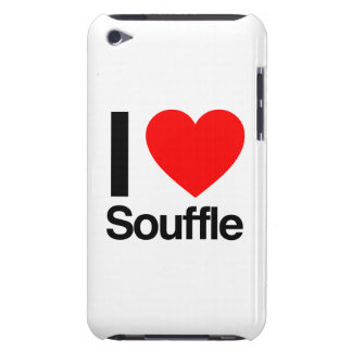 i love souffle barely there iPod cases