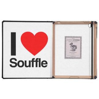 i love souffle iPad cover