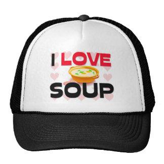 I Love Soup Hats