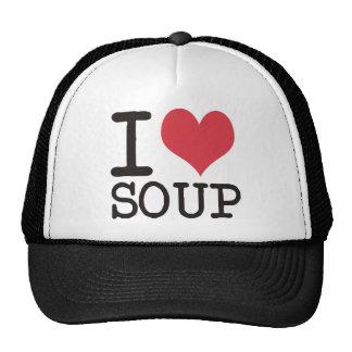 I love Soup - Vegetarian - Pizza Products! Cap