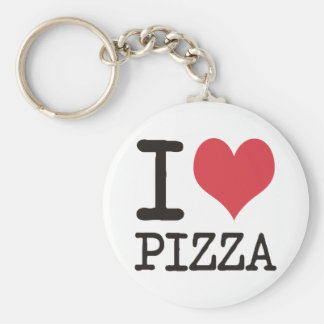 I love Soup - Vegetarian - Pizza Products! Key Ring