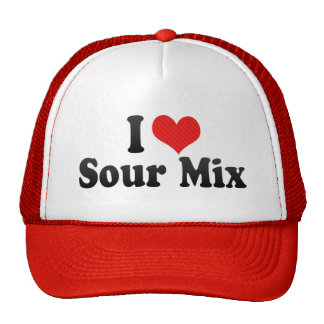I Love Sour Mix Trucker Hat