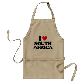 I LOVE SOUTH AFRICA APRONS