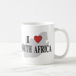 I Love South Africa Coffee Mug