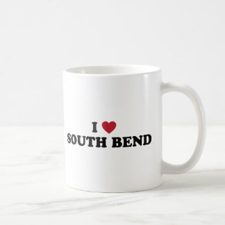 I Love South Bend Indiana Coffee Mug