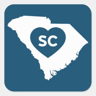 I Love South Carolina State Stickers