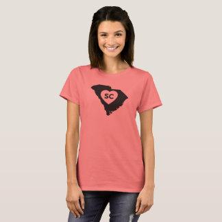 I Love South Carolina State Women's Basic T-Shirt