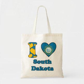I love South Dakota Budget Tote Bag