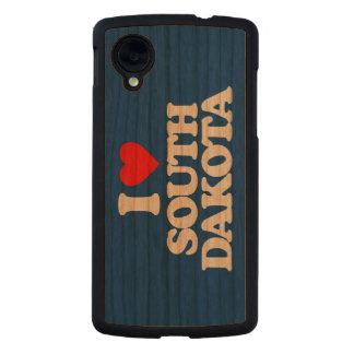 I LOVE SOUTH DAKOTA CARVED® CHERRY NEXUS 5 CASE