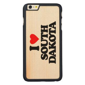 I LOVE SOUTH DAKOTA CARVED® MAPLE iPhone 6 PLUS CASE