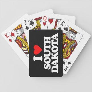 I LOVE SOUTH DAKOTA CARD DECKS