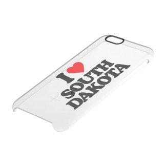 I LOVE SOUTH DAKOTA CLEAR iPhone 6/6S CASE
