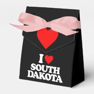 I LOVE SOUTH DAKOTA PARTY FAVOR BOXES
