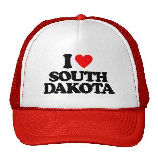 I LOVE SOUTH DAKOTA HATS