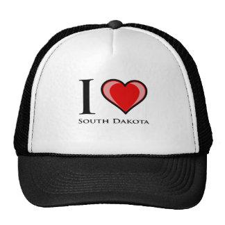 I Love South Dakota Mesh Hat