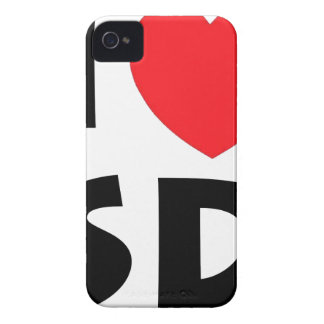 I Love South Dakota iPhone 4 Case-Mate Case