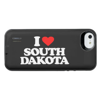 I LOVE SOUTH DAKOTA iPhone SE/5/5s BATTERY CASE