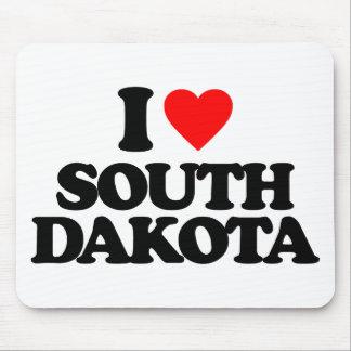 I LOVE SOUTH DAKOTA MOUSE PADS