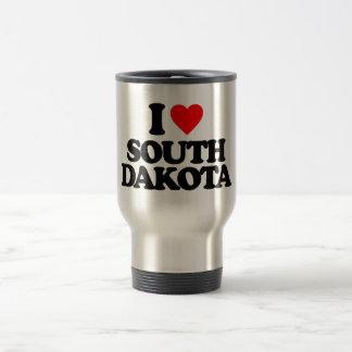 I LOVE SOUTH DAKOTA COFFEE MUG