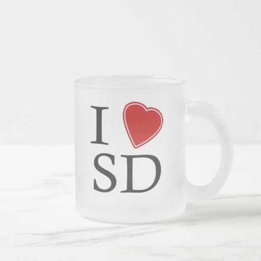 I Love South Dakota Mug