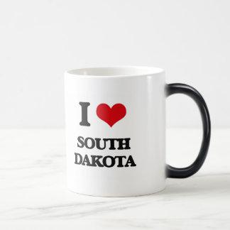 I Love South Dakota Mugs