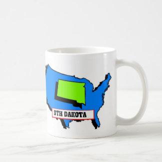 I Love South Dakota Basic White Mug