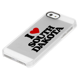 I LOVE SOUTH DAKOTA PERMAFROST® iPhone SE/5/5s CASE