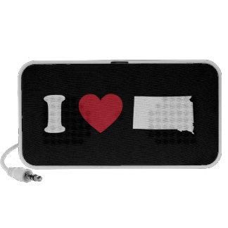 I Love South Dakota Portable Speaker