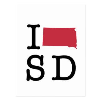 I Love South Dakota Postcards