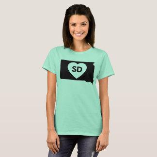 I Love South Dakota State Women's Basic T-Shirt