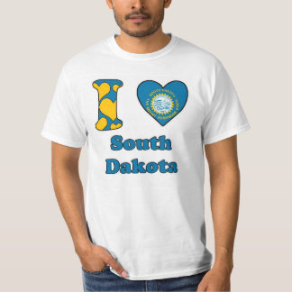 I love South Dakota T Shirts