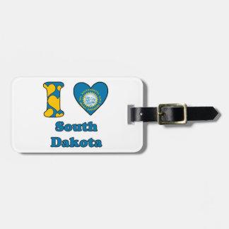 I love South Dakota Tags For Luggage