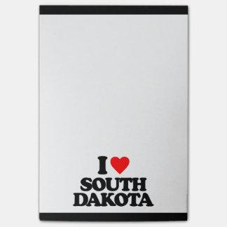 I LOVE SOUTH DAKOTA POST-IT® NOTES