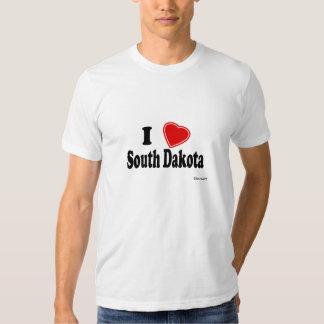 I Love South Dakota Tee Shirts