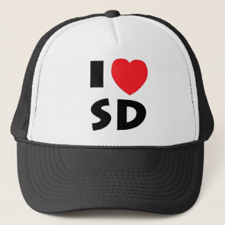 I Love South Dakota Trucker Hat