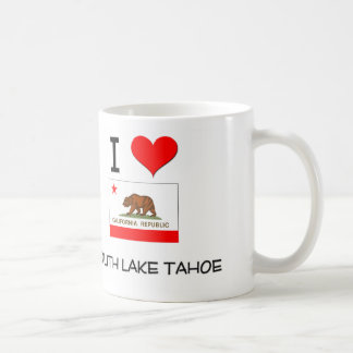 I Love SOUTH LAKE TAHOE California Coffee Mugs