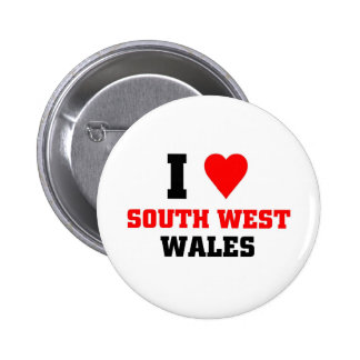 I love South West Wales Button