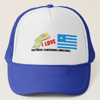 I Love Southern Cameroons Trucker Hat