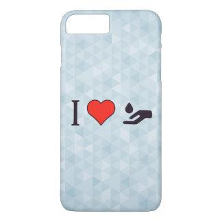 I Love Spa Massages iPhone 7 Plus Case