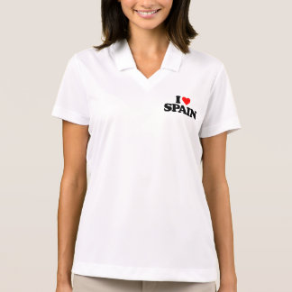 I LOVE SPAIN POLO T-SHIRTS