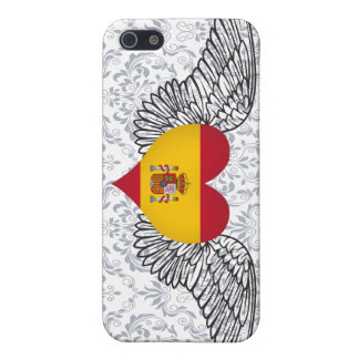 I Love Spain -wings iPhone 5 Case