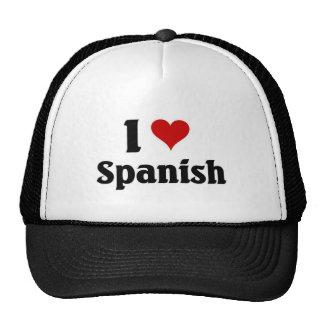 I love spanish mesh hat