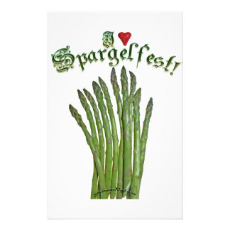 I Love Spargelfest! Stationery