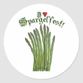 I Love Spargelfest! Stickers